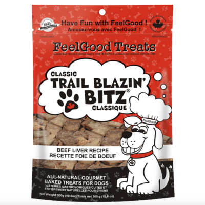 FeelGood® Trail Blazin' Bitz™ Classic Recipes : BEEF LIVER (300g)