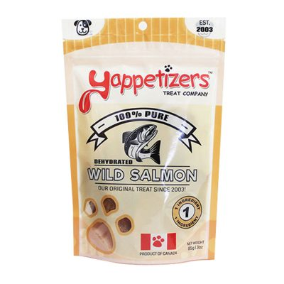 Yappetizers Wild Salmon
