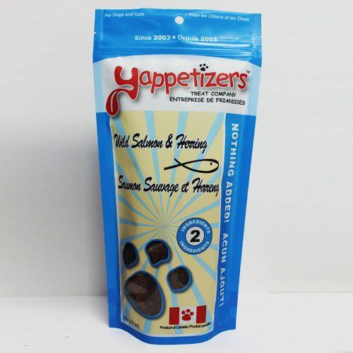 Yappetizers Salmon & Herring Dog Treat