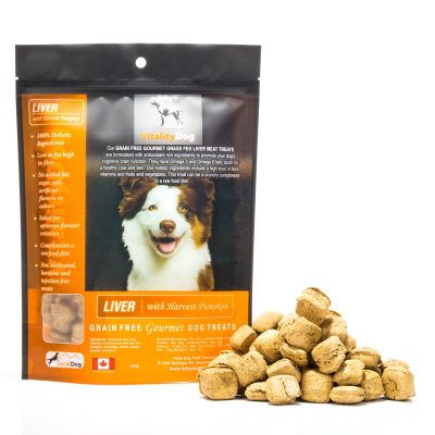 VitalityDog – Liver with Harvest Pumpkin