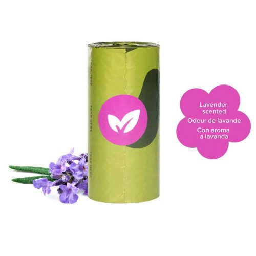 Poop Bag Refill Starter Pack Lavender | 30 Rolls