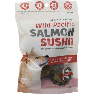 Snack 21 – Salmon Sushi Rolls