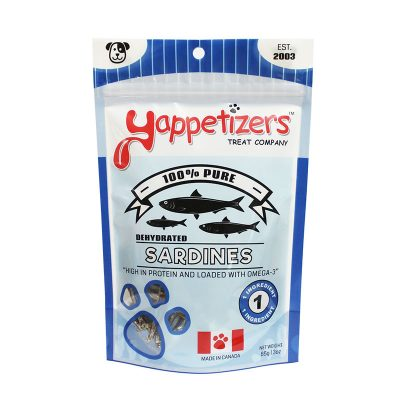 Yappetizers Sardines for Dogs
