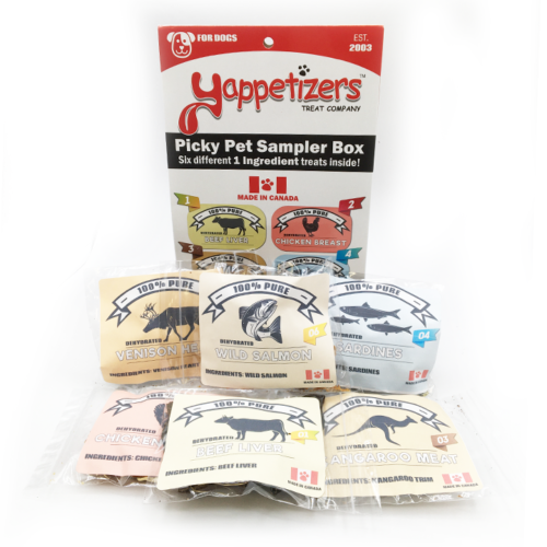 Yappetizers Picky Pet Sampler Box (180g)