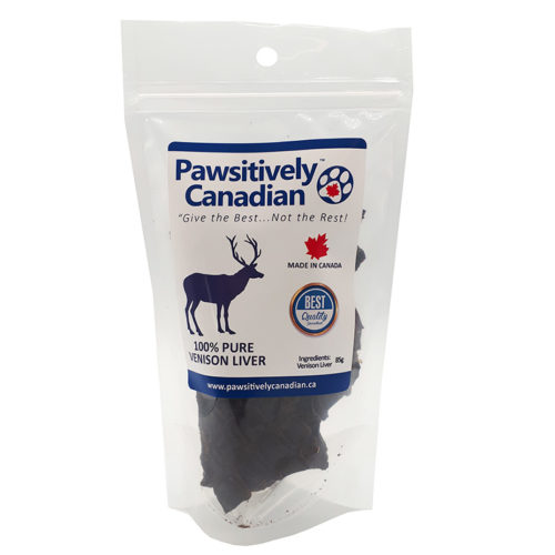 PawsitivelyCanadian Private Labeled Dehydrated Treats (85g)