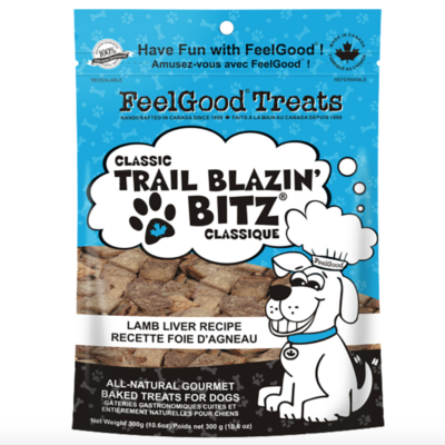 FeelGood® Trail Blazin' Bitz™ Classic Recipes : LAMB LIVER (300g)