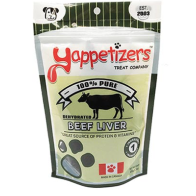 Yappetizers Dehydrated Beef Liver