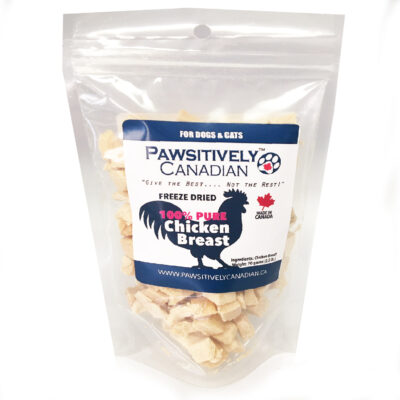 PawsitivelyCanadian Freeze Dried Chicken Breast (70g)
