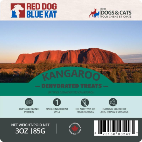 Red Dog Blue Kat Kangaroo
