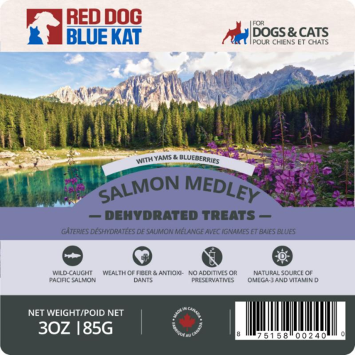 Red Dog Blue Kat Salmon Medley