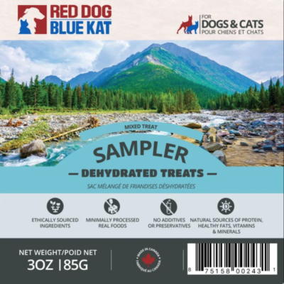 Red Dog Blue Kat Mixed Treat Sampler