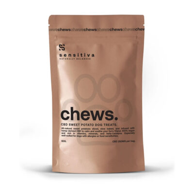Sensitiva CBD Infused Sweet Potato Chews (250mg)