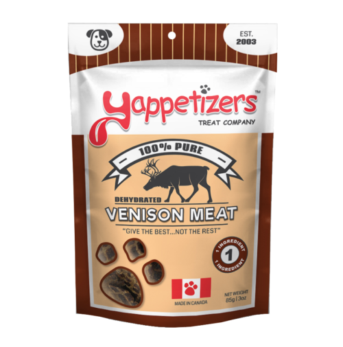 Yappetizers Dehydrated Venison Meat
